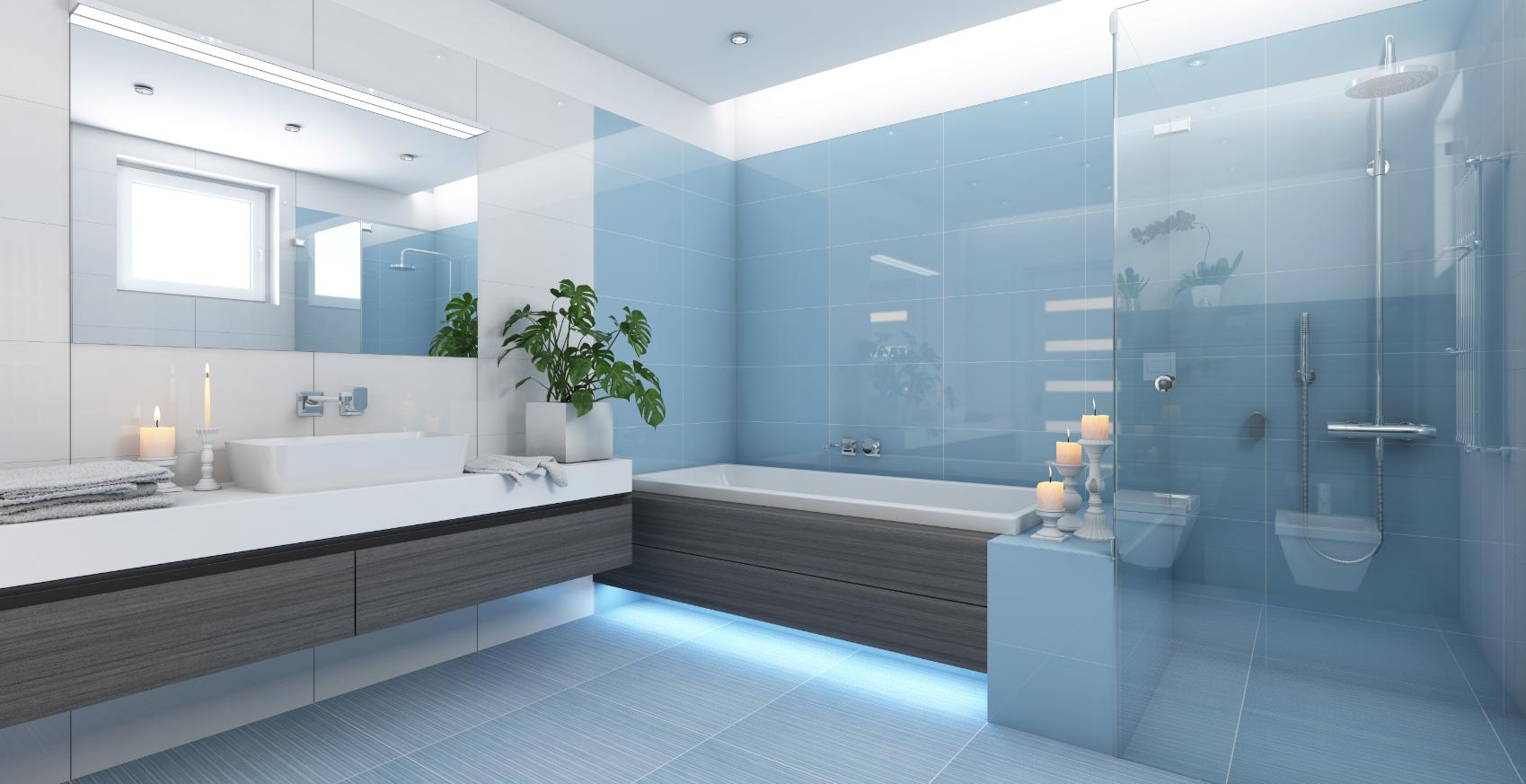 panorama full framed shower screen